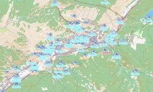 Una imatge del mapa on consten totes les fotodenúncies rebudes i el seu estat.
