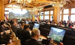 La primera reunió de ministres d'Afers Exteriors iberoamericans celebrada a Soldeu.