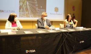 Un moment de la presentació del llibre 'L'economia circular i Andorra' i de la 33a diada andorrana a l'UCE.