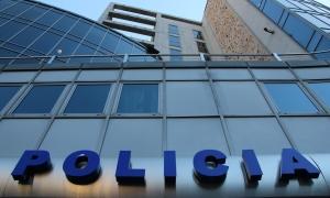 L'edifici de la policia.