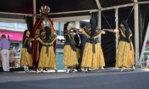 L'Esbart Laurèdia, durant la festa major d'aquest any.