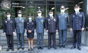 Membres dels dos cossos de seguretat.