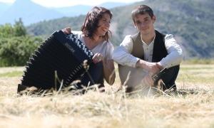 El duet Daura format per Ivan Caro i Pilar Planavila.