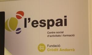 El centre d'activitats i formació de la Fundació Crèdit Andorrà.