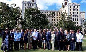 Reunió Iberoamericana de ministres i altes autoritats d'Educació Superior a l'Havana.