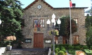L'antiga casa comuna de Sant Julià de Lòria.