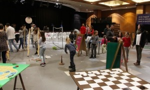 Un edició anterior del Saló de la Infància i de la Joventut d'Andorra a Encamp.