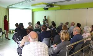 Un dels tallers organitzat per la Fundació Crèdit Andorrà.