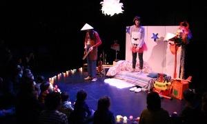 L'espectacle 'El fabulós viatge de l'estel i el domisol' que es va oferir en una edició passada.