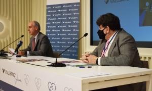 El director general de Vall Banc, José Luis Dorado, i el president d'Assandca, Josep Saravia.
