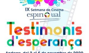 Cartell de la Setmana Espiritual de Cinema.