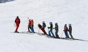 Una jornada d'esquí escolar a Arcalís.