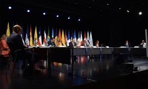 Una de les trobades preparàtories de la Cimera Iberoamericana de caps d'Estat i de Govern.