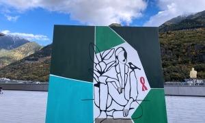 El mural Elizabeth Blackwell.