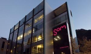 Edifici de la companyia a Santa Coloma.