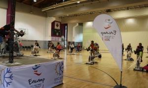 Una de les activitats esportives fetes aquest any a la parròquia.