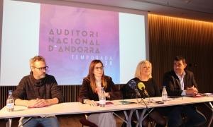 La presentació de la temporada de l'Auditori Nacional.