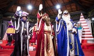 Els tres reis mags, en una imatge d'arxiu.