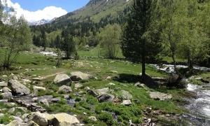 Una imatge de la vall del Madriu.