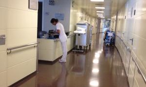 Imatge de l'interior de l'hospital Nostra Senyora de Meritxell.