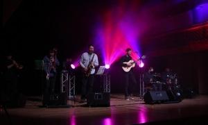 Concert de 'Els Pali' a l'Auditori Nacional d'Andorra.