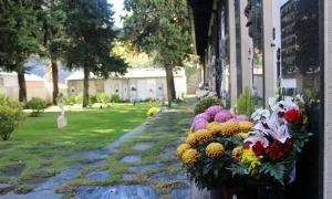 El cementiri antic d'Andorra la Vella.