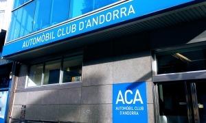 La seu de l'Automòbil Club d'Andorra.