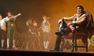 L'espectacle 'La Bella i la Bèstia' que es va fer al mes de novembre.