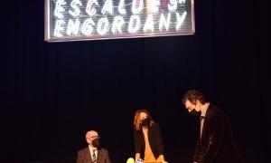 La cònsol major d'Escaldes-Engordany, Rosa Gili, amb Antoni i Marc Pantebre.