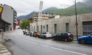 El carrer Baixada del Molí d'Andorra la Vella.