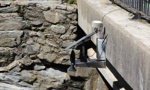 Estació hidrològica de Llorts.