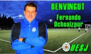 Fernando Ochoaizpur, oficialment, nou tècnic de la UE Sant Julià. Foto: Facebook