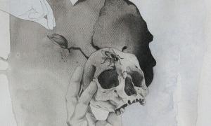 Una il·lustració de Martín Blanco, professor del taller d'il·lustració de La Capsa.
