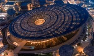 Un dels pavellons de l'Expo Dubai 2020.