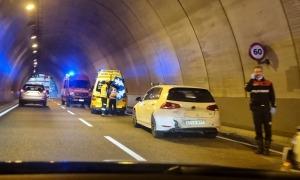 L'estat en què han quedat els vehicles després del sinistre.