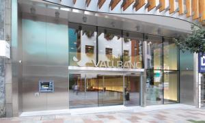 Una oficina de Vall Banc.