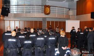 S'inicia el curs de formació per a 20 nous caporals de Polici