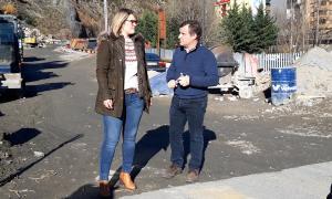 Els candidants van explicar el seu projecte urbanístic per la parròquia