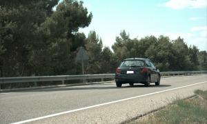 El vehicle interceptat pels mossos a 181 km/h.