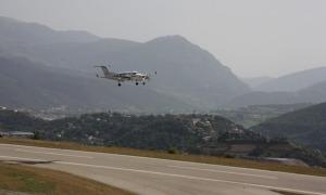 Imatge d'arxiu de l'aeroport Andorra-La Seu d'Urgell.