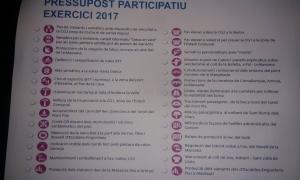 28 propostes ciutadanes per escollir