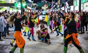 Rua del carnaval celebrat l'any passat.