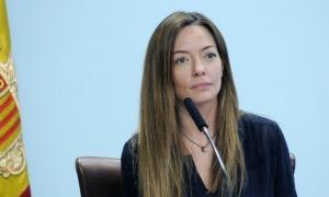 La secretària d'Estat de Salut, Helena Mas, ha donat les dades sanitàries.