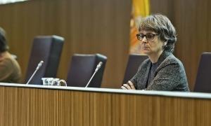 La consellera general del PS i presidenta de la formació, Susanna Vela.