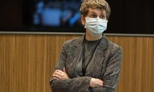 Susanna Vela en una imatge recent al Consell General.