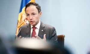 El cap de Govern, Xavier Espot, en una roda de premsa anterior.
