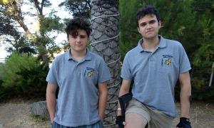 Josep Maria Ribera i Àlex Alcón, a la Salobreña. Foto: escacsandorra.com