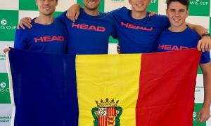 La Copa Davis s'ajorna per la pluja i Jesús Muro es lesiona
