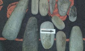 Andorra, arqueologia, Juverri, Juberri, destral Remolins, Mossos, excavació, falsificació