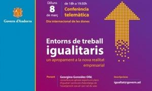 El cartell de la conferència que tindrà lloc el 8 de març.